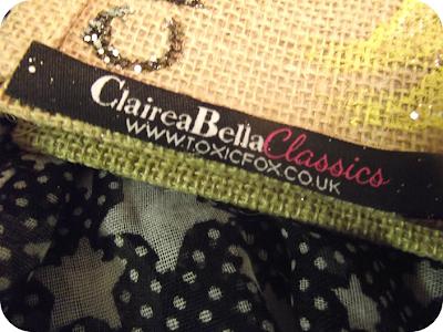 Claireabella bag logo