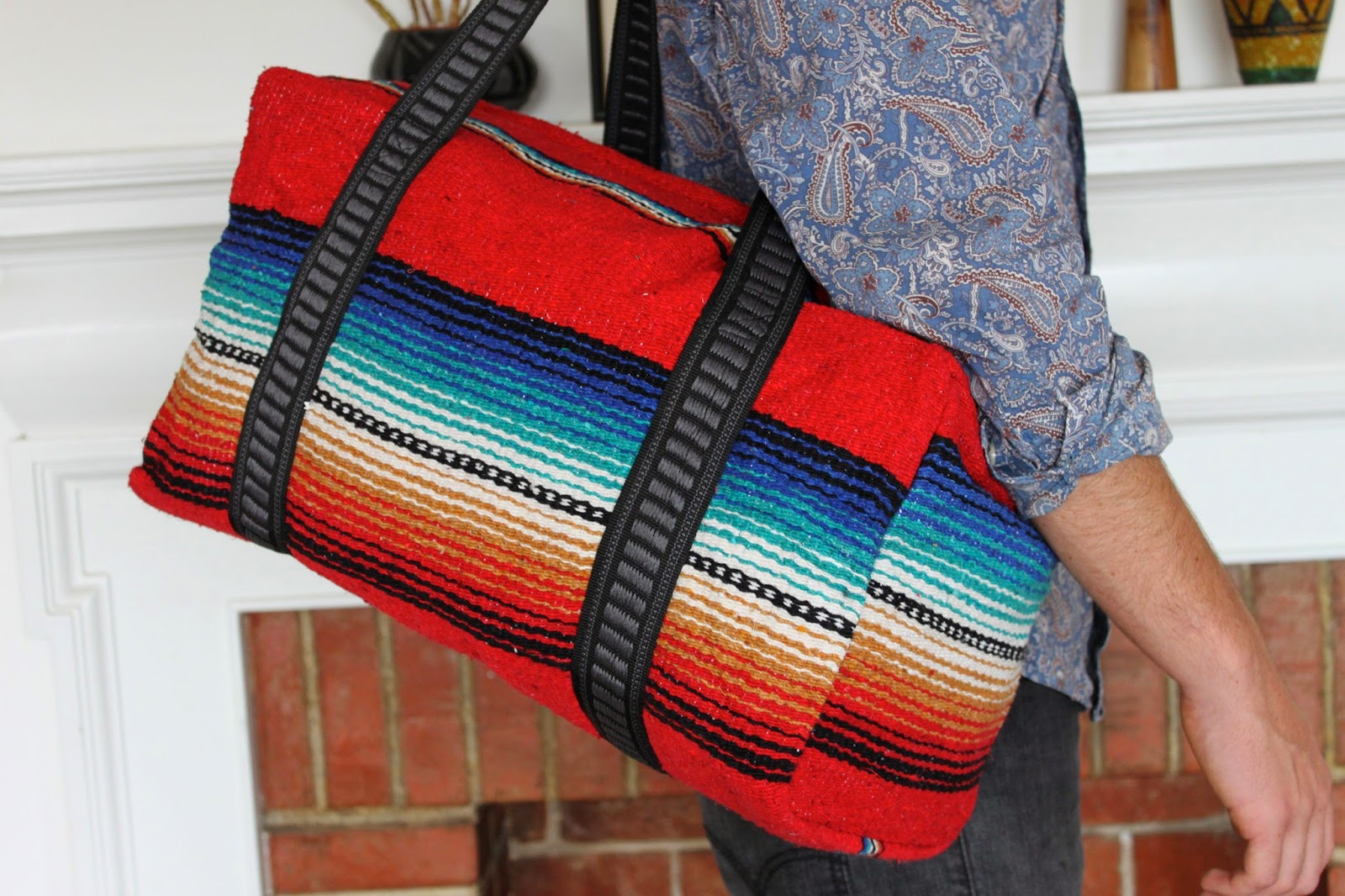 MODERNHAUS: Big Serape Weekender Bags-Southwestern Bags for Travel ...