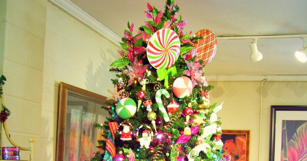 Arboles de navidad decorados con dulces - Imagenes de arboles de navidad decorados ...