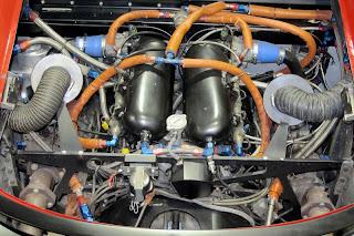 Jaguar XJ220 prototipo motore