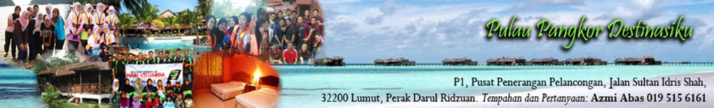 Pulau Pangkor Destinasiku