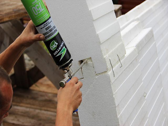 ДОМИШКО: Технология малобюджетного строительства: домик-шатёр из пенополистирола