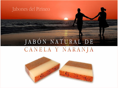 Jabón Natural de Canela y Naranja