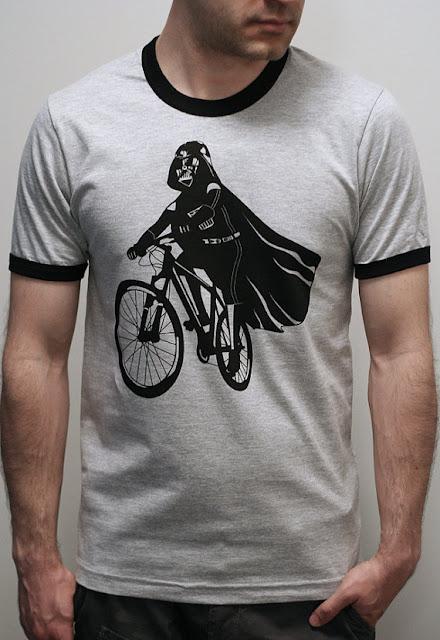Engram Clothing Darth Vader Bicycle Shirt