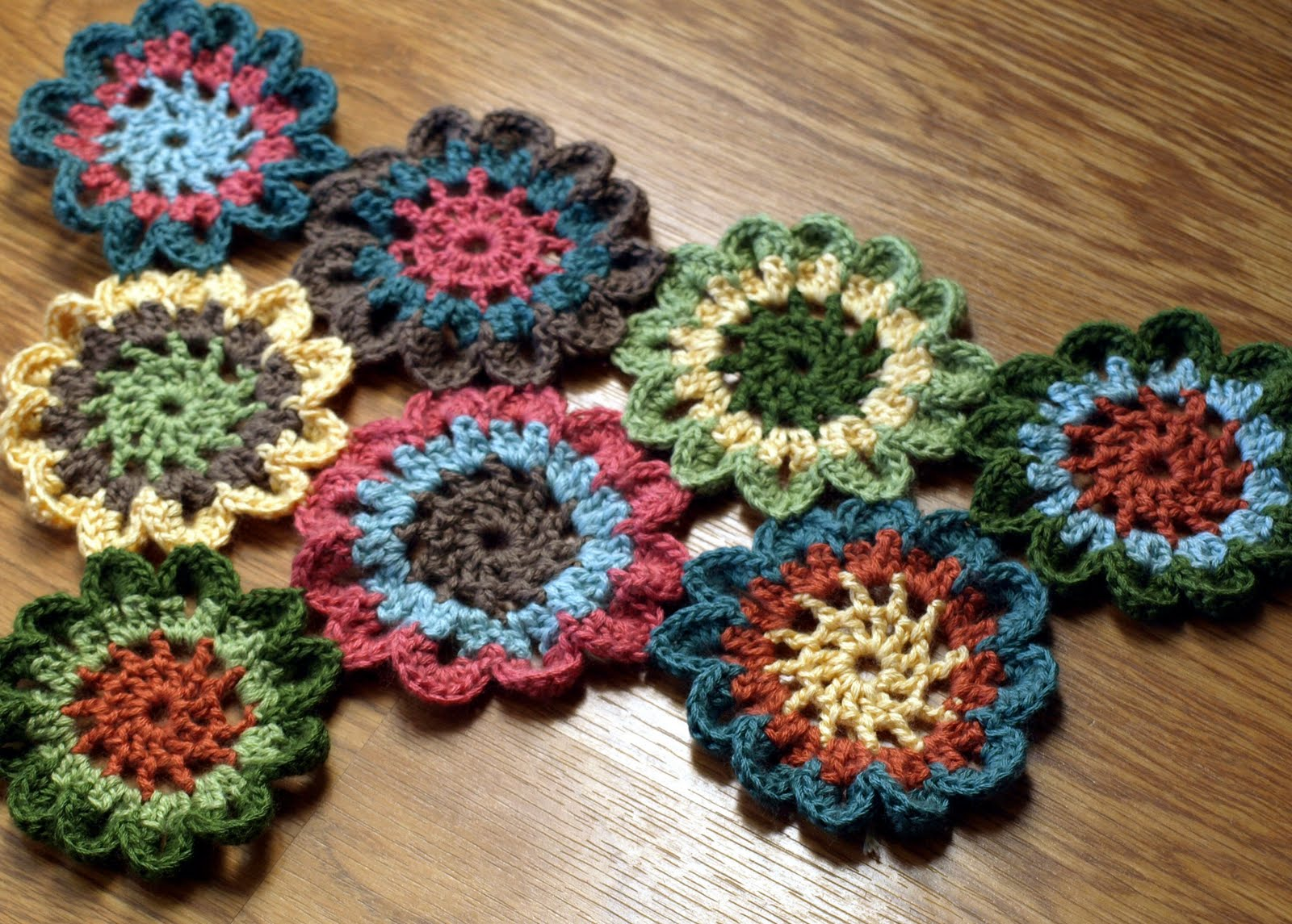 Free Crochet Pattern Japanese Flower : JAPANESE CROCHET FLOWER ? Crochet For Beginners