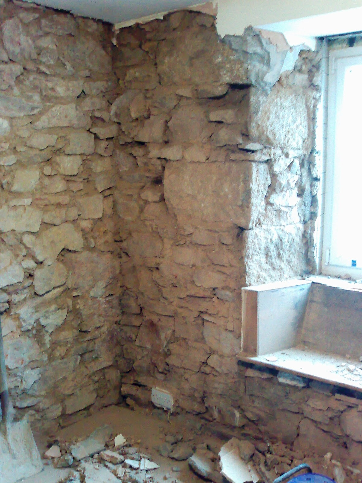 Blogger Insulating A Cornish Granite House Part 1
