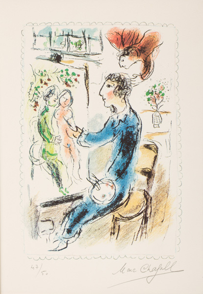 That 39 s inked up printmaking 39 s day dreamer marc chagall for Chagall peintre