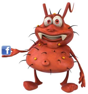تحذير من(مالوير) ينتشر بين متصفحي الفيسبوك عن طريق (الايميلات) Facebook-bug1