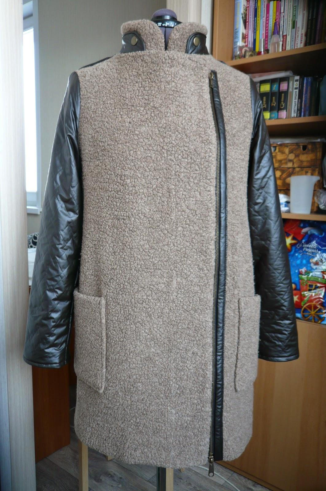 Как из старого пальто сделать модное новое