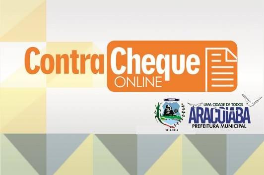 CONTRA CHEQUE ONLINE - PORTAL DO SERVIDOR