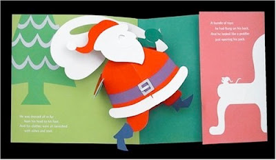 excerpt from Robert Sabuda's Night Before Christmas Pop-up book