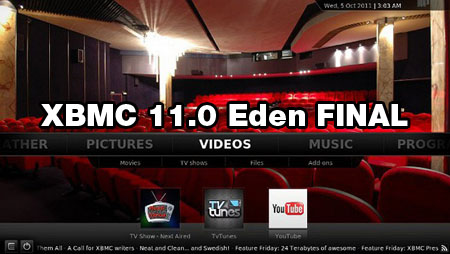 Posts Related to XBMC 11.0 Eden download