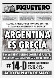EL PIQUETERO - Nº3 - AÑO 2 - NOVIEMBRE 2012