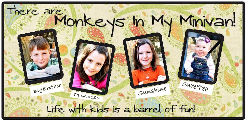 Monkeys In My Minivan