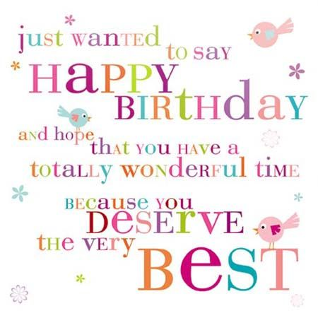 Happy Birthday quotes images