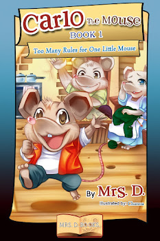 PUBLISHED! CARLO THE MOUSE - BOOK 1
