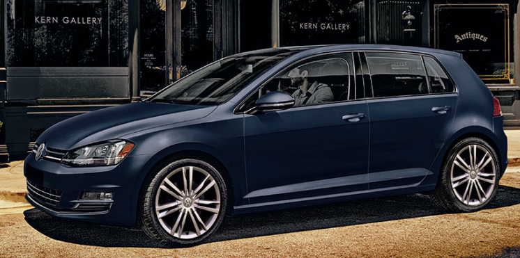 2015 Volkswagen Golf grey