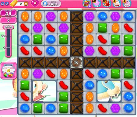 Candy Crush Saga 1061