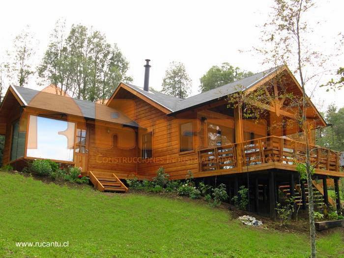 Arquitectura de casas modelos de casas prefabricadas en for Modelos de casas de madera de un piso