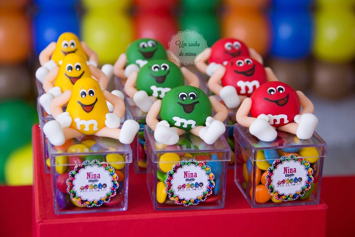 Festa Infantil BH, decoração festa BH, festa M&M, festa M&M's