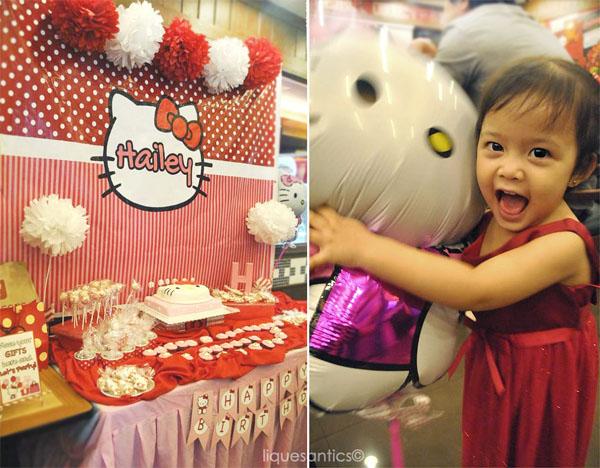 Lique S Antics Hailey S Hello Kitty Diy Birthday Party At Shakey S