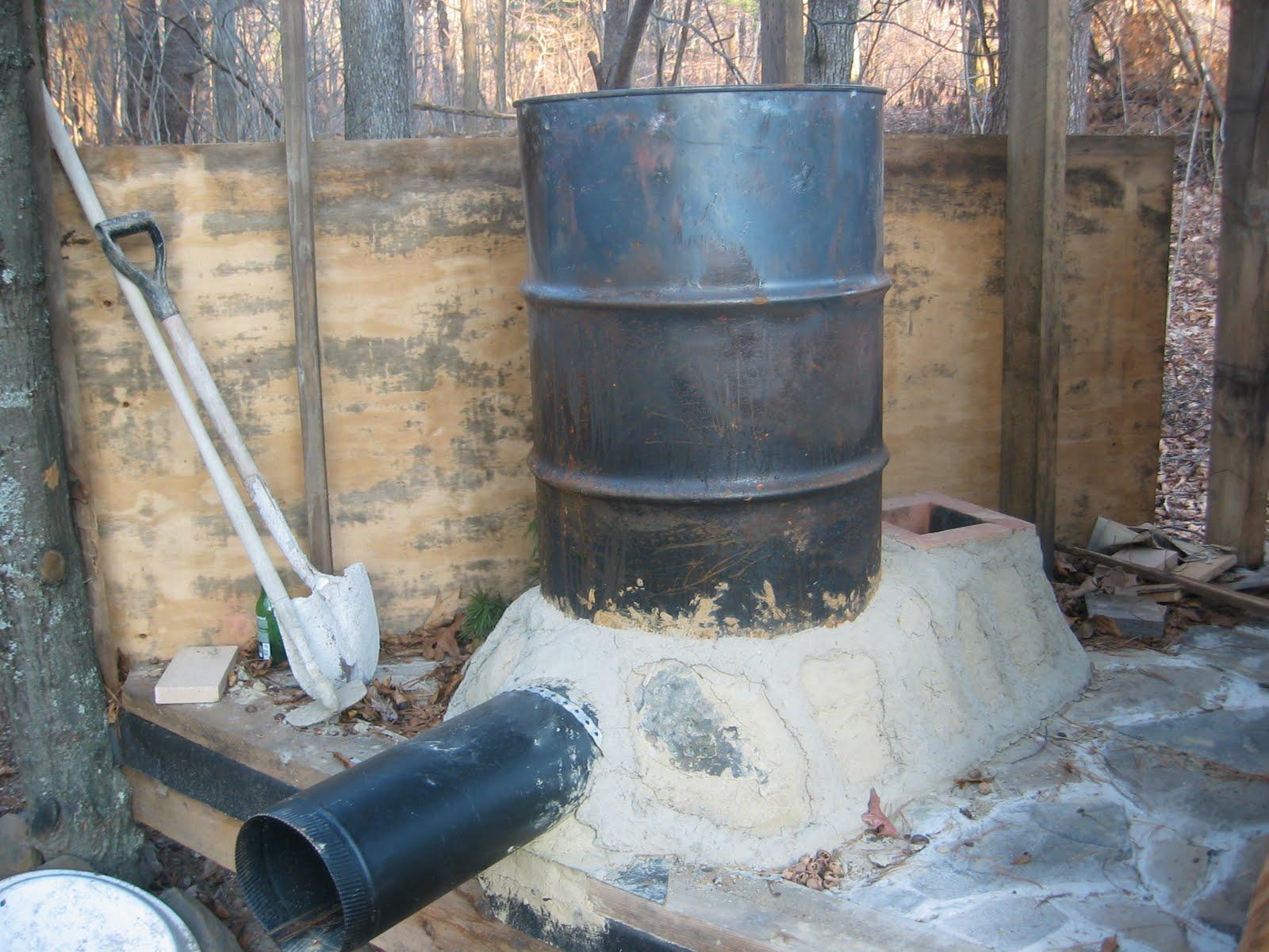 La rocket stove ovvero una stufa fai da te self made for Stufa autocostruita