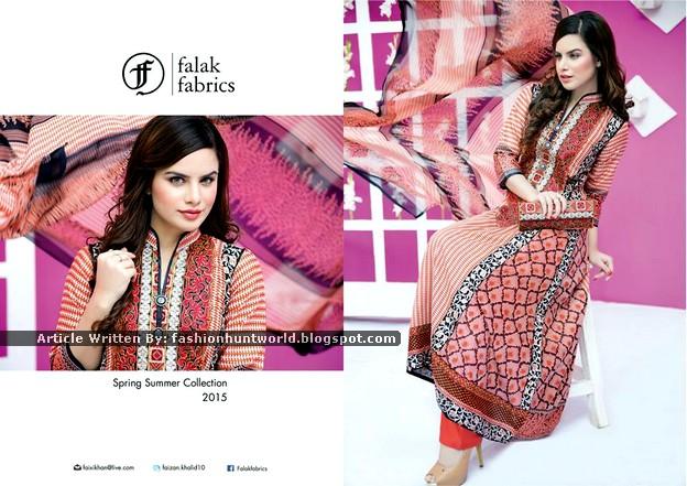 Falak Fabrics Lawn 2015-2016 Magazine