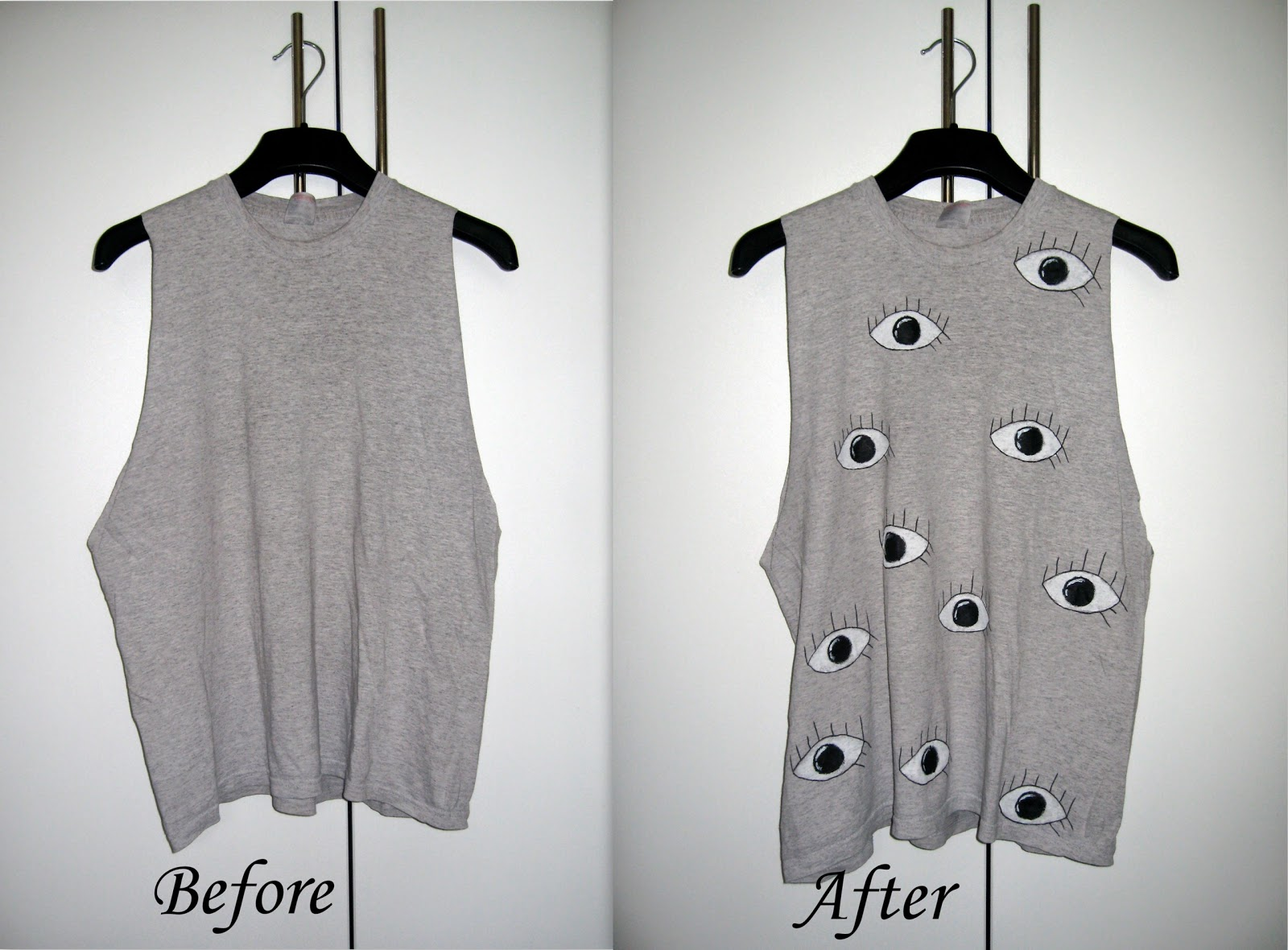 zara eyes print dress, DIY, zara eye print inspired DIY, DIY t shirt tee top, DIY t-shirt with eye print, recycle old t-shirt