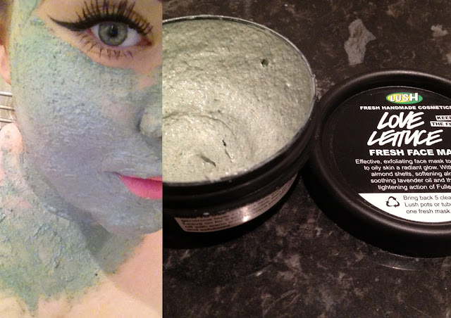 Lush's love lettuce face mask