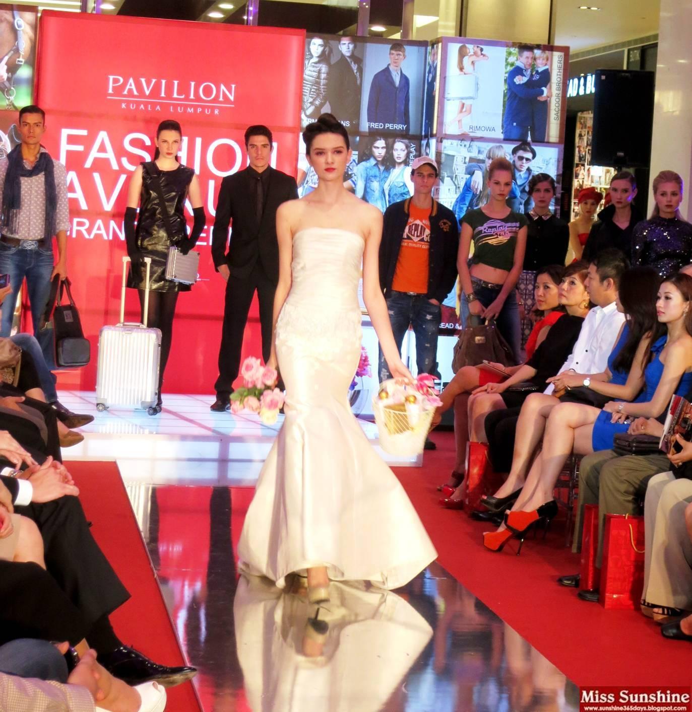 Sunshine Kelly Beauty Fashion Lifestyle Travel Fitness Fashion Avenue At Pavilion Kl