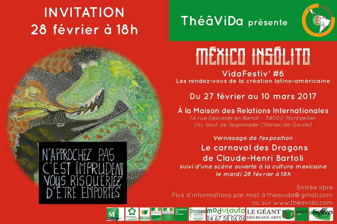 Mexico Insolito - Montpellier 2017