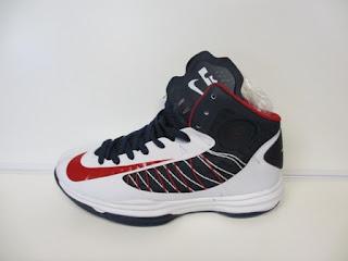 Nike Hyperdunk 2012 Putih Biru