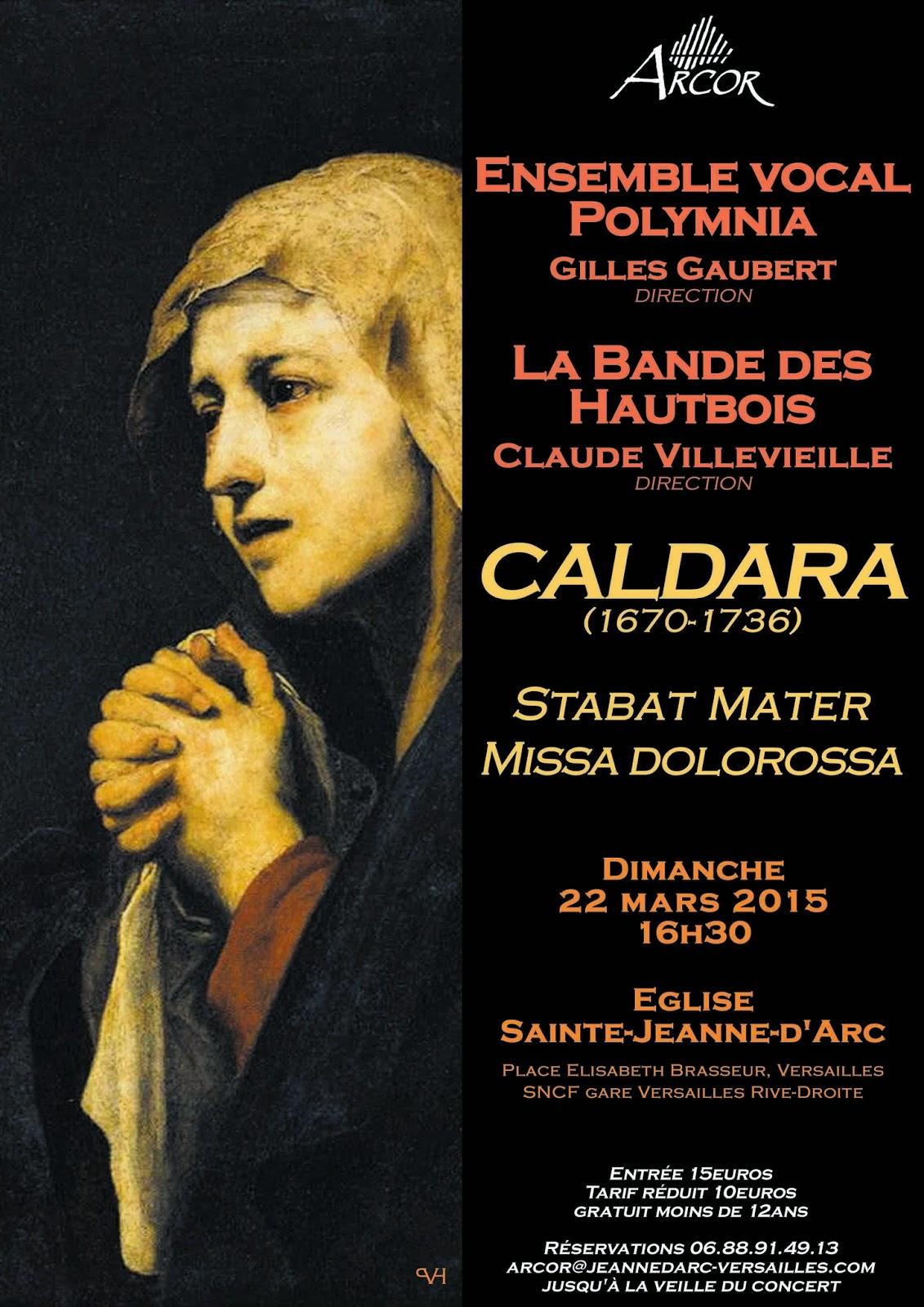 Affiche concert 22 mars 2015