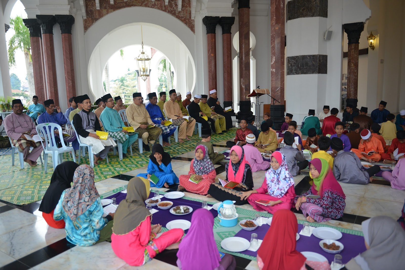 masjid ubudiah official majlis berbuka puasa bersama anak anak