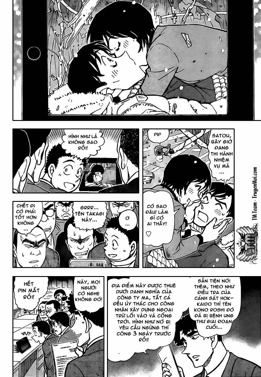 Thám Tử Lừng Danh Conan - Chapter 808 - Pic 14