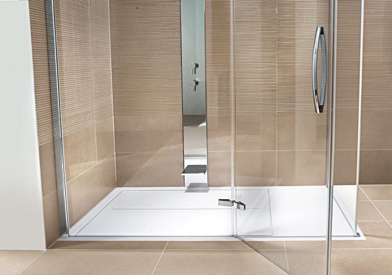 la comodidad de las duchas a ras de suelo ba era por