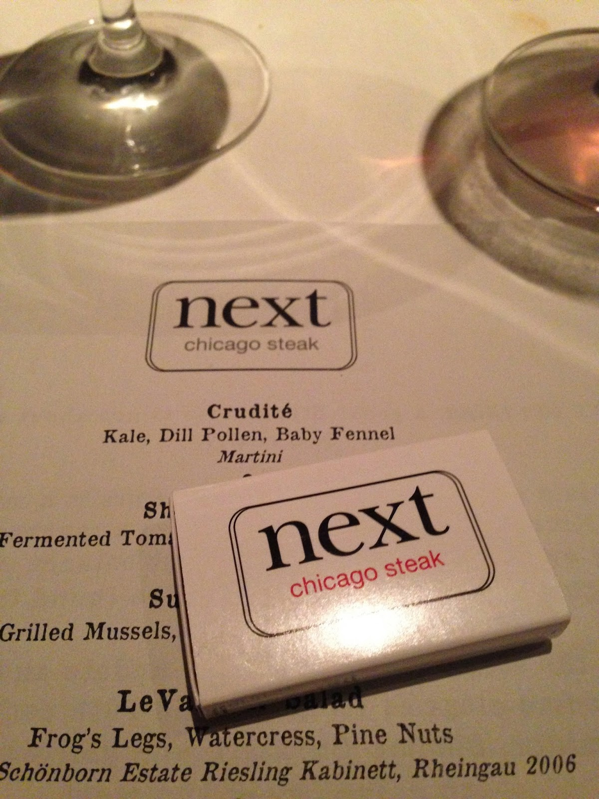 Indianapolis Restaurant Scene: Road Trip: Next and The Aviary -- Chicago