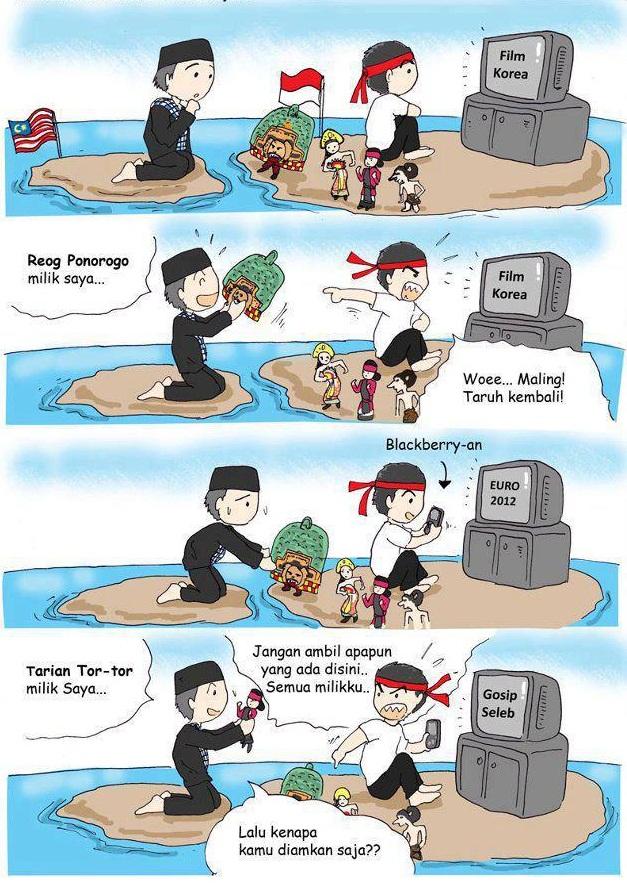 Penyebab Malaysia mengklaim berbagai budaya Indonesia