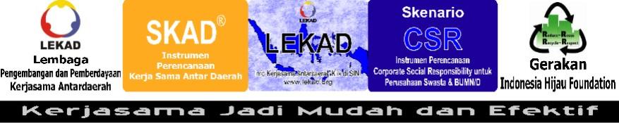 Sebuah Lembaga Nir-Laba Menginisiasi Kerjasama Antardaerah (Regional Management) di Indonesia