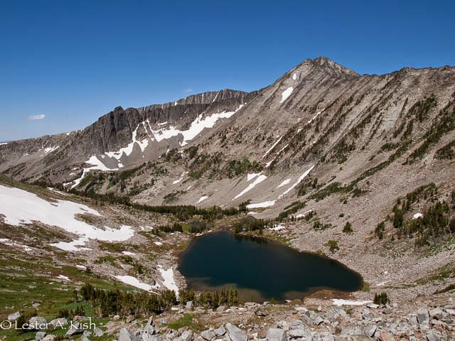Cottonwood Lake, Crazy Mountains, Montana