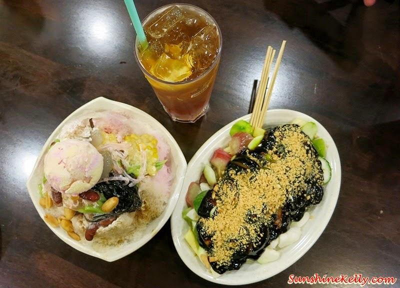 Penang Rojak Buah, Ice Kacang, Ice Lemon Tea, spices of penang, Bloggers' Day Out @ Klang Parade, Klang Parade, Shopping Mall
