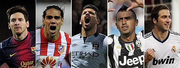 Los 10 mejores futbolistas americanos del 2012
