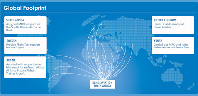 Denel Aviation's global business