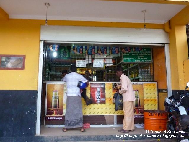 magasin d'alcool au sri lanka