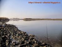 рыбалка в устье реки Абин