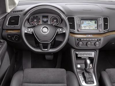 Interior del Volkswagen Sharan 2015