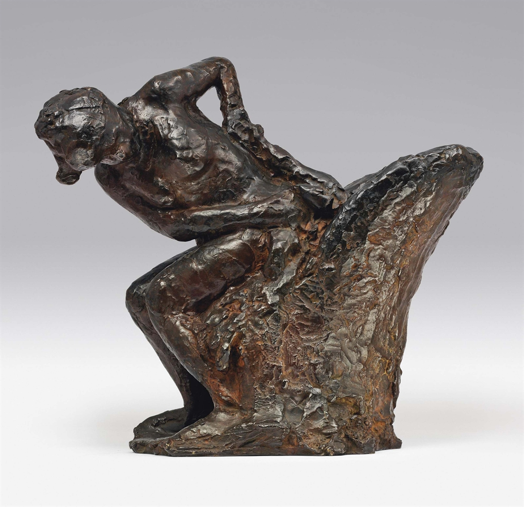 Edgar  Degas  Seated  Woman  Wiping  Her  Left  Side C