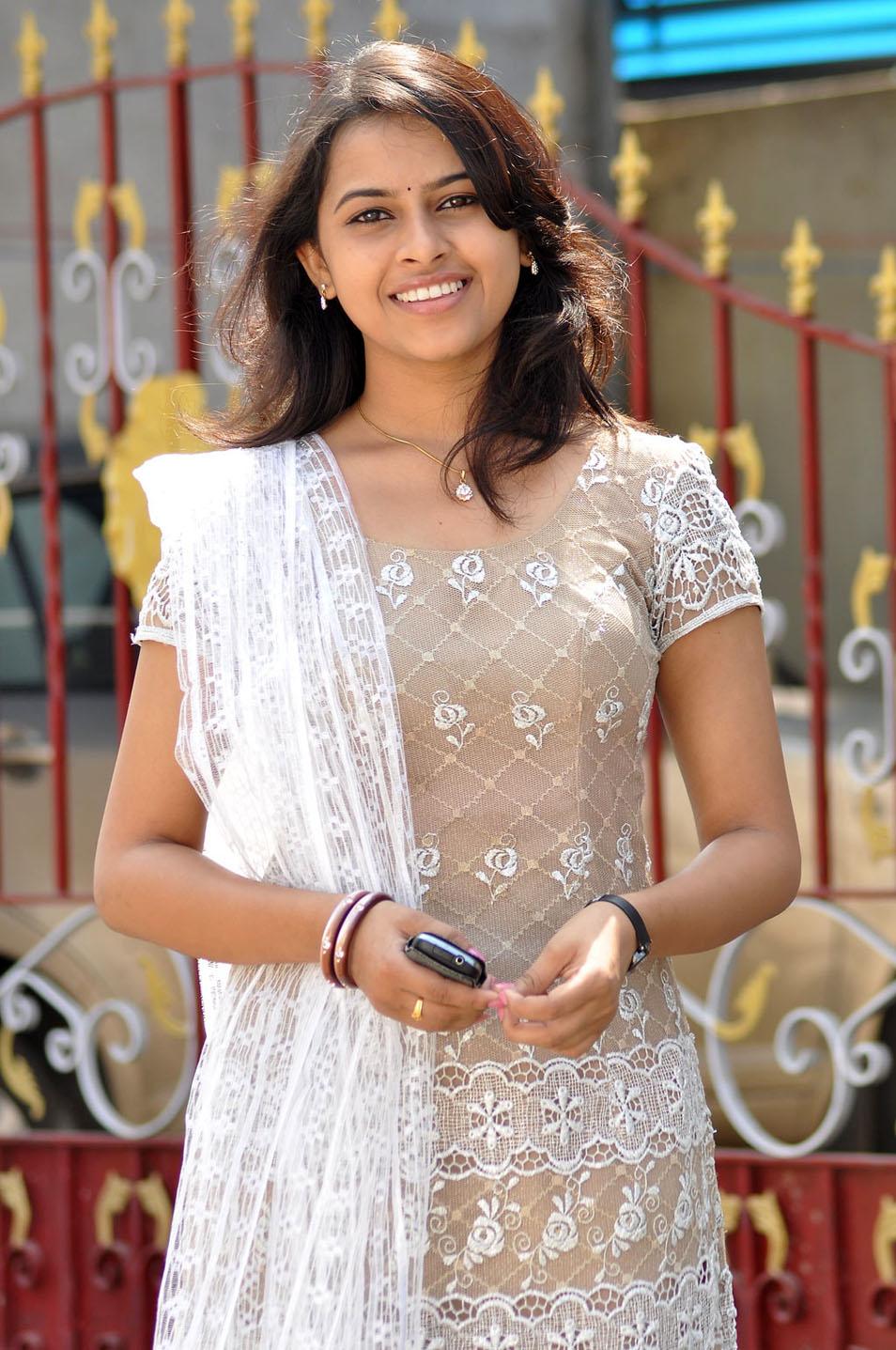 Sri Divya Latest Stills In Half Saree   Gsv Pics - Photos with Poetry
