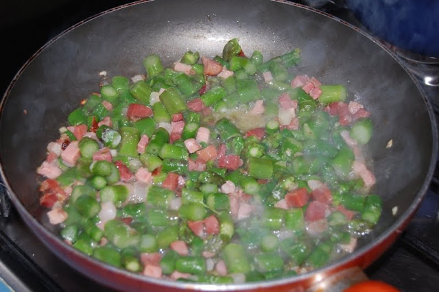 asparagi pancetta