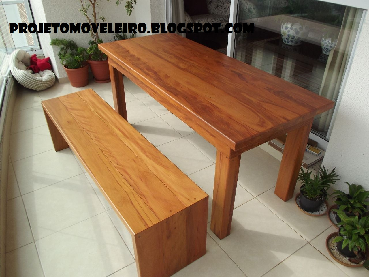 PROJETOS EM MADEIRA MACIÇA E MOVEIS SOB MEDIDA: Mesa e banco madeira  #9C652F 1280x960